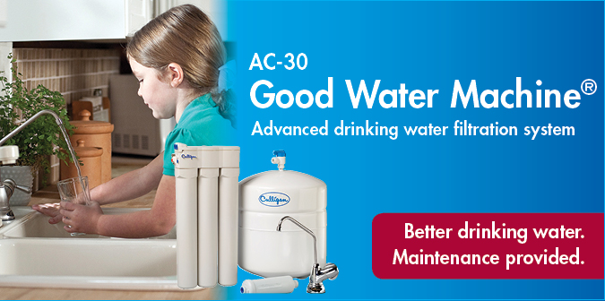 AC-30 Good Water Machine. Advanced drinking water filtration system. Better drinking water. Maintenance provided.
