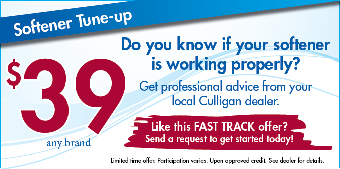 Do you know if you softener is working properly? Get professional advice from your local Culligan dealer.